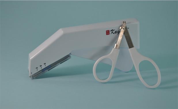 斯迈尔医疗的一次性皮肤缝合器提供专用的拆钉器 ...
